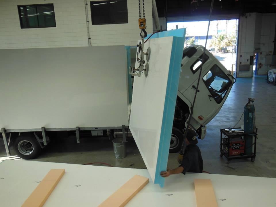 Styrofoam panel